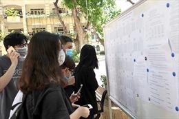 Các trường đại học bắt đầu công bố điểm chuẩn xét tuyển bổ sung