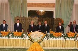 Củng cố và phát huy quan hệ hợp tác tích cực, đơm hoa kết trái giữa Campuchia và Việt Nam
