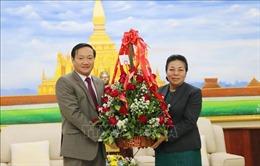 Chúc mừng 64 năm Ngày thành lập Đảng Nhân dân Cách mạng Lào