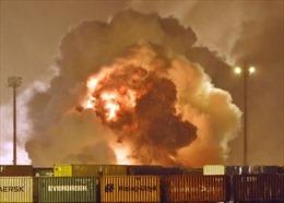 Nổ lớn, phá hủy gần như toàn bộ nhà máy hóa chất ở miền Đông Trung Quốc