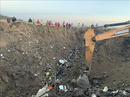 Để ngỏ khả năng 'mổ' hộp đen máy bay Boeing 737 MAX gặp nạn tại châu Âu