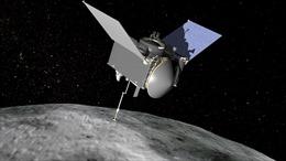 Tàu thăm dò Osiris-Rex bắt đầu hành trình trở về Trái Đất
