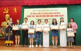 Lan tỏa tình yêu đọc sách qua cuộc thi Đại sứ Văn hóa đọc