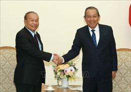 Phó Thủ tướng Trương Hòa Bình tiếp Bộ trưởng Bộ Lễ nghi và Tôn giáo Campuchia