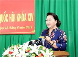 Chủ tịch Quốc hội giải đáp nhiều vấn đề nóng của cử tri Cần Thơ
