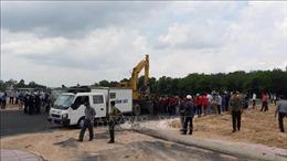 Tạm giữ 10 người gây rối tại xã Tóc Tiên