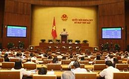 Thông qua Nghị quyết Chương trình xây dựng luật, pháp lệnh năm 2020