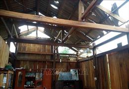 Mưa lốc gây nhiều thiệt hại tại Thái Nguyên
