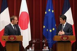 Tổng thống Pháp thăm chính thức Nhật Bản: Khu vực hội tụ lợi ích
