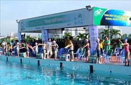 TP Hồ Chí Minh phát động toàn dân luyện tập bơi phòng chống đuối nước