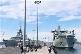 Hai tàu Hải quân Hoàng gia Canada thăm Việt Nam