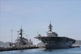 Hai tàu thuộc lực lượng Tự vệ trên biển Nhật Bản thăm xã giao Việt Nam