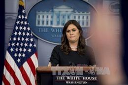 Thư ký báo chí Nhà Trắng S.Sanders từ chức