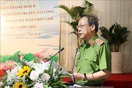 Mở đợt cao điểm trấn áp tội phạm ma túy trên tuyến biên giới Việt Nam - Campuchia