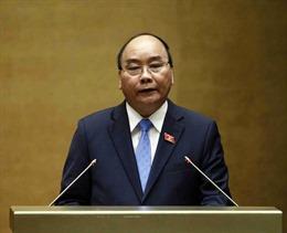 Thủ tướng trả lời chất vấn về nâng cao chất lượng đội ngũ cán bộ và tội phạm công nghệ cao