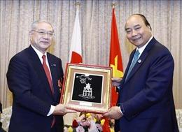 Thủ tướng Nguyễn Xuân Phúc tiếp lãnh đạo các Hội Hữu nghị Nhật - Việt tại Kansai và Sakai