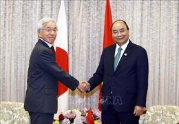 Thủ tướng Nguyễn Xuân Phúc tiếp nhiều nhà đầu tư Nhật Bản