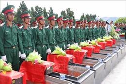 Gia Lai tổ chức lễ truy điệu và an táng 61 liệt sỹ