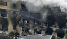 Vụ cháy xưởng phim ở Nhật Bản: Kyoto Animation tìm cách phục hồi dữ liệu trong máy chủ