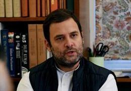 Chủ tịch đảng Quốc đại Ấn Độ từ chức