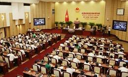 Kỳ họp thứ 9 HĐND thành phố Hà Nội thông qua nhiều nghị quyết quan trọng