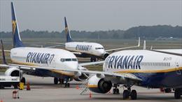 Hãng hàng không Ryanair sẽ đóng cửa một số cơ sở do bàn giao Boeing 737 MAX bị trì hoãn