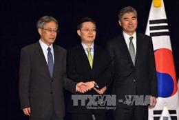 Mỹ đề xuất thời điểm thảo luận ba bên với Nhật Bản và Hàn Quốc