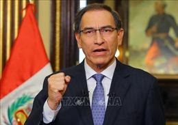 Tổng thống Peru đề nghị cắt ngắn nhiệm kì của mình