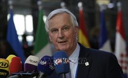 Trưởng đoàn đàm phán của EU phản đối yêu cầu thay đổi thỏa thuận của tân Thủ tướng Anh