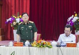 Bộ trưởng Bộ Quốc phòng Ngô Xuân Lịch thăm và làm việc tại Kiên Giang