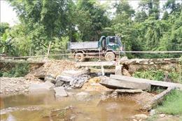 Cầu tràn Quốc lộ 48D tiềm ẩn nguy hiểm trong mùa mưa lũ