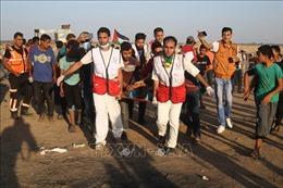 Binh lính Israel nổ súng bắn chết một nhóm người Palestine ở biên giới Dải Gaza