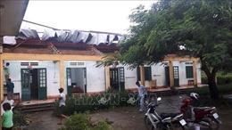 Dông lốc gây nhiều thiệt hại tại Văn Bàn, Lào Cai