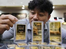 Giá vàng rời khỏi mức cao nhất của 6 năm