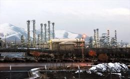Iran dự trữ hơn 360 kg uranium làm giàu thấp