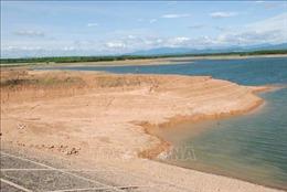 Các hồ chứa nước của Quảng Trị xuống mực nước chết