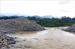 Chấn chỉnh tình trạng khai thác cát trên sông Dinh