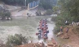 Lật bè ở Cao Bằng, 3 người mất tích