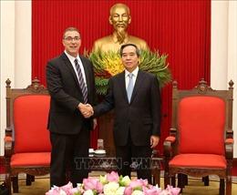 Đồng chí Nguyễn Văn Bình tiếp Trưởng đại diện mới của IMF tại Việt Nam