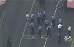 Táo tợn đấu súng 7 giờ với cảnh sát tại Philadelphia