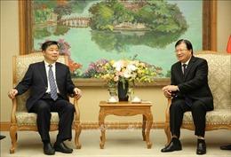 Phó Thủ tướng Trịnh Đình Dũng tiếp Phó Tỉnh trưởng tỉnh Quảng Đông, Trung Quốc