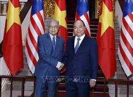 Thủ tướng Nguyễn Xuân Phúc hội đàm với Thủ tướng Malaysia Mahathir Mohamad