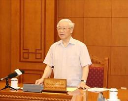 Tổng Bí thư, Chủ tịch nước Nguyễn Phú Trọng chủ trì họp Tiểu ban Nhân sự Đại hội XIII của Đảng