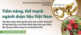 Tiềm năng, thế mạnh ngành dược liệu Việt Nam