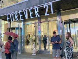 Forever 21 nộp đơn xin bảo hộ phá sản, đóng 350 cửa hàng trên thế giới