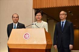Trưởng đặc khu phản đối sự can thiệp của nước ngoài đối với Hong Kong