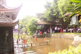 Lan tỏa nghệ thuật múa rối nước Đồng Ngư, Bắc Ninh