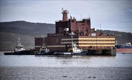 Nhà máy điện hạt nhân nổi đầu tiên của thế giới kết thúc hành trình 5.000 km