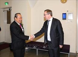 Phần Lan rất coi trọng phát triển quan hệ hợp tác nhiều mặt với Việt Nam