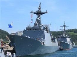 Hàn, Nhật tham gia diễn tập hàng hải đa quốc gia